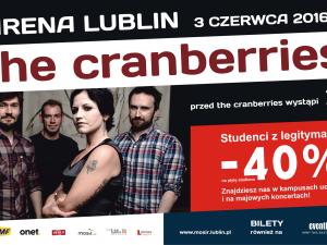 Sprzedaż biletów na Cranberries!