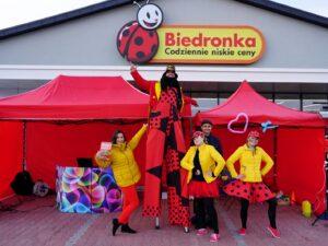 Otwarcia supermarketów Biedronka