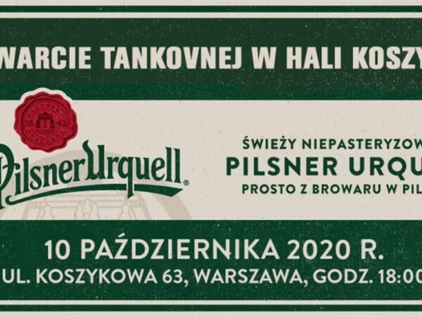 Otwarcie Tankovnej w Warszawie